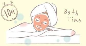 お風呂パック